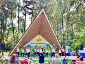 Младший состав Red Peppers на дне городского округа Красногорск